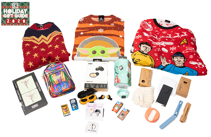 Under the Radar's 2020 Holiday Gift Guide Part 8: Apparel, Technology, and More