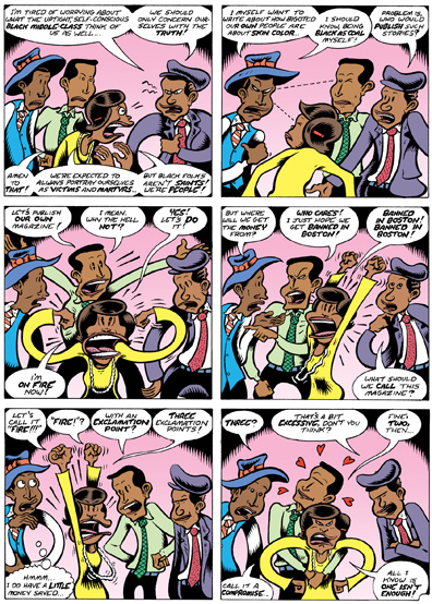 """Peter Bagge on """"Fire!! The Zora Neale Hurston Story"""""""