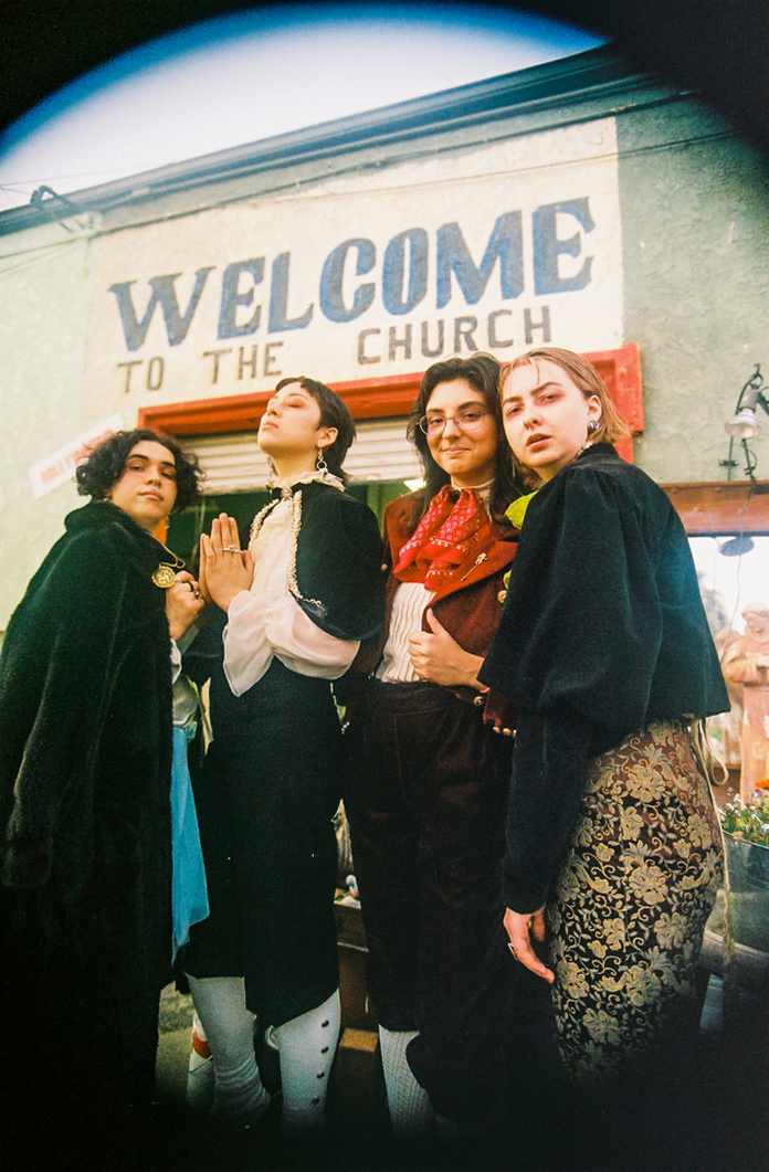 """Girl Friday on Their Debut Album """"Androgynous Mary"""""""